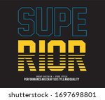 vector illustration in the form ... | Shutterstock .eps vector #1697698801