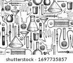 coronavirus covid 19 seamless... | Shutterstock .eps vector #1697735857