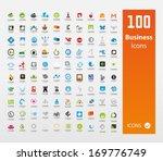 Usable  Business logo Set ( Set of 100 logo ) | Shutterstock vector #169776749