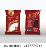 Rice Package Mockup Thailand...