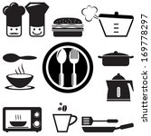 set of kitchen icons for web ... | Shutterstock .eps vector #169778297