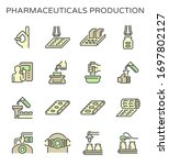 pharmaceutical and supplement... | Shutterstock .eps vector #1697802127
