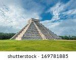 el castillo or temple of... | Shutterstock . vector #169781885