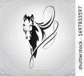Horse Head Silhouette In...