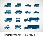 heavy truck icon | Shutterstock .eps vector #169787111