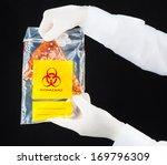 pizza triangle inside bio...   Shutterstock . vector #169796309