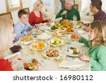 portrait of family at christmas | Shutterstock . vector #16980112