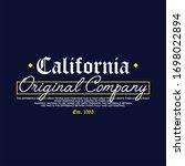california orignal company...   Shutterstock .eps vector #1698022894