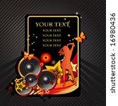 music background | Shutterstock .eps vector #16980436