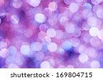 purple lights festive... | Shutterstock . vector #169804715