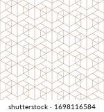 vector seamless geometric... | Shutterstock .eps vector #1698116584