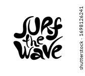 Surf The Wave   Unique Vector...