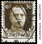 italy   circa 1943  stamps... | Shutterstock . vector #169814294