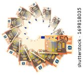 fifty euro | Shutterstock .eps vector #169818035
