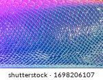 Neon Silver Snake Skin Pattern...