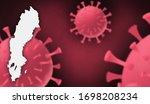 sweden corona virus update with ... | Shutterstock . vector #1698208234