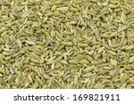Dried Fennel Seeds Background