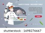 banner illustration safety food ... | Shutterstock .eps vector #1698276667