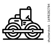 technology road roller icon.... | Shutterstock .eps vector #1698282784