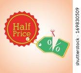 shopping  design over pink ... | Shutterstock .eps vector #169830509