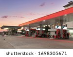Petrol Station And Gas Station.