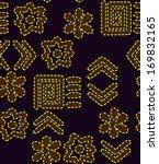 seamless  batik  vector ... | Shutterstock .eps vector #169832165