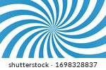 sunburst background with blue... | Shutterstock .eps vector #1698328837