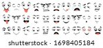 cartoon emotions. different... | Shutterstock .eps vector #1698405184