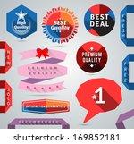 modern promo design elements.... | Shutterstock .eps vector #169852181