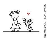 mother's day | Shutterstock .eps vector #169859585