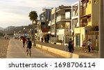 Colorful Houses At Santa Monic...