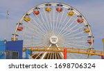 Ferris Wheel At Santa Monica...