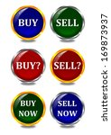color buttons with inscriptions ... | Shutterstock . vector #169873937