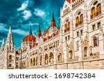 Hungarian Parliament Close Up....