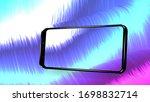 smartphone frame less blank...