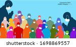 coronavirus in china. novel... | Shutterstock .eps vector #1698869557