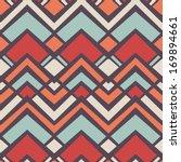 seamless vector geometric... | Shutterstock .eps vector #169894661