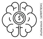 brainstorming startup idea icon....   Shutterstock .eps vector #1698978541