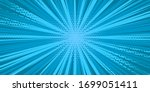 pop art yellow comics book...   Shutterstock .eps vector #1699051411