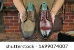 Shoe Repair Patina Brown Shoe