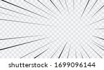 abstract comic book flash... | Shutterstock .eps vector #1699096144