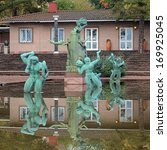 stockholm  sweden   october 4 ... | Shutterstock . vector #169925045