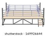 cartoon image of boxing ring | Shutterstock . vector #169926644