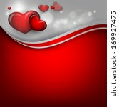 valentine's day vector... | Shutterstock .eps vector #169927475
