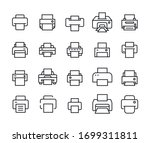 Vector Line Icons Collection Of ...