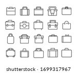 vector line icons collection of ...   Shutterstock .eps vector #1699317967
