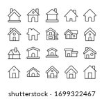 big set of home line icons....