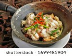 baked tofu with river prawns in ...
