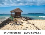 remote wooden building on the... | Shutterstock . vector #1699539667