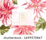 vector horizontal banner with... | Shutterstock .eps vector #1699570867